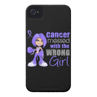 Stomach Cancer Messed With Wrong Girl.png Blackberry Bold Covers
