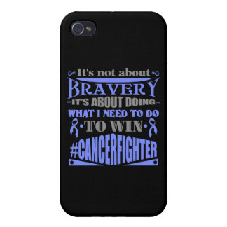 Stomach Cancer Not About Bravery iPhone 4 Covers