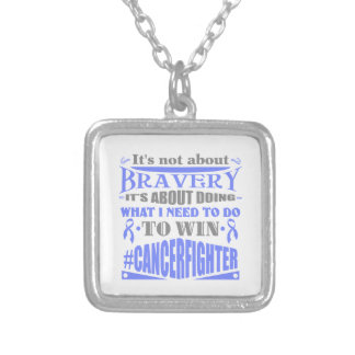 Stomach Cancer Not About Bravery Pendant