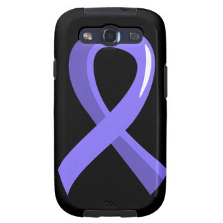 Stomach Cancer Periwinkle Ribbon 3 Galaxy S3 Cover