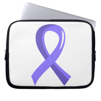 Stomach Cancer Periwinkle Ribbon 3 Laptop Sleeves