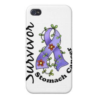 Stomach Cancer Survivor 15 iPhone 4 Cases