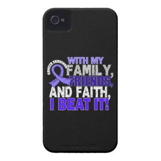 Stomach Cancer Survivor Family Friends Faith Blackberry Bold Cover