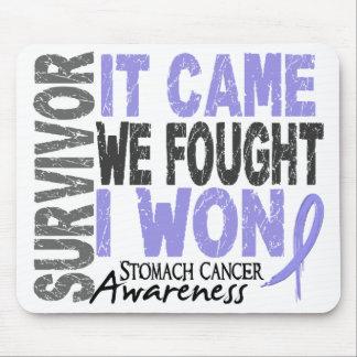 Stomach Cancer Survivor It Came We Fought I Won Mouse Pads