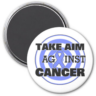 Stomach Cancer Take Aim Against Cancer Refrigerator Magnets