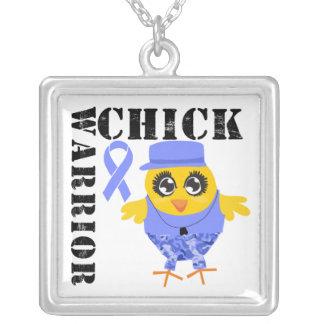 Stomach Cancer Warrior Chick Custom Jewelry