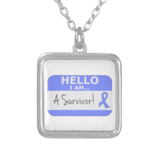 Stomach Hello I Am A Survivor Custom Necklace
