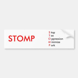 Stomp - Bumper Sticker 2