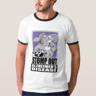 Stomp Out Alzheimer's Disease T-Shirt