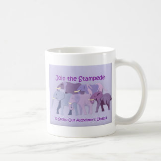 Stomp Out Alzheimer's Coffee Mugs