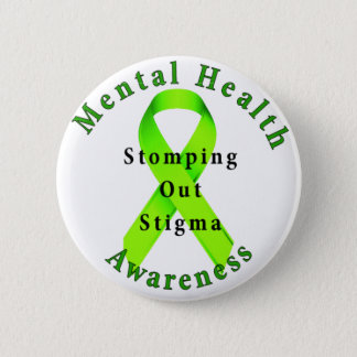 Stomping Out Stigma 6 Cm Round Badge