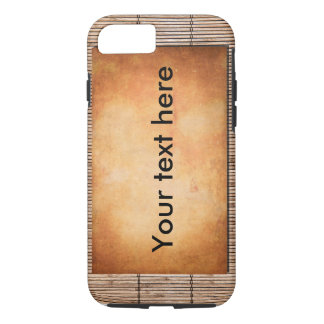 Stone and bamboo iPhone 7 case