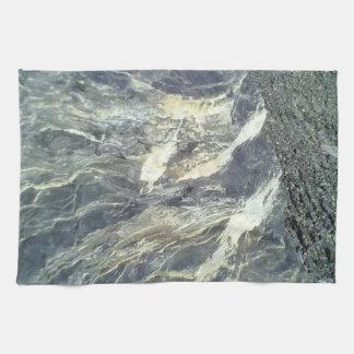 Stone and rock tea towel