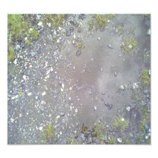 Stone and water photo art