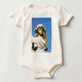Stone angel baby bodysuit