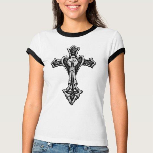 Stone Angel Cross T-Shirt