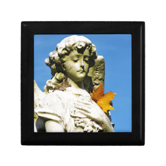 Stone angel gift box