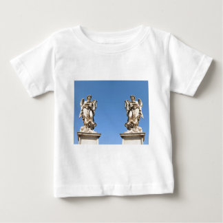 Stone angel in Rome, Italy Baby T-Shirt