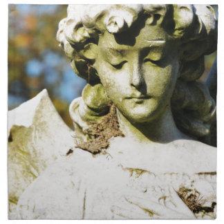 Stone angel napkin