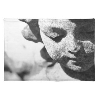 Stone angel placemat