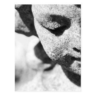 Stone angel postcard