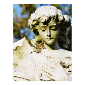 Stone angel postcard