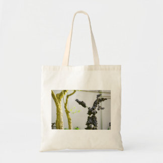 Stone Angel Statue Canvas Bags