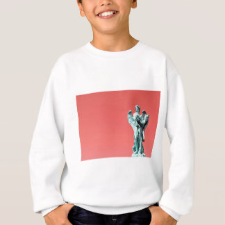 Stone angel statue sweatshirt