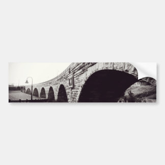 Stone Arch Bridge Bumper Sticker