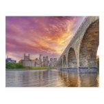 Stone Arch Bridge Postcard