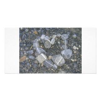 stone-art photo greeting card