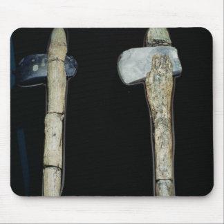 Stone Axes, prehistoric Mouse Mat