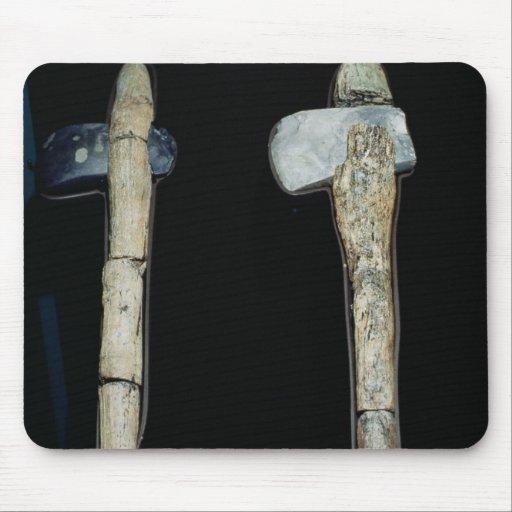 Stone Axes, prehistoric Mousepad