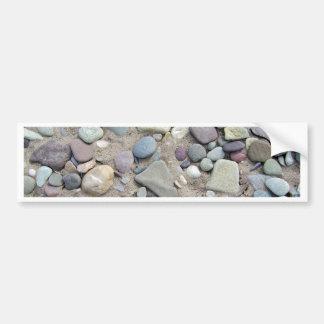Stone Beach Car Bumper Sticker