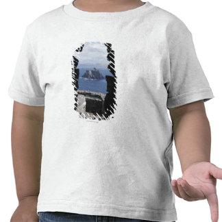Stone Beehive Monk Huts Clochanson Skellig Michael T-shirt