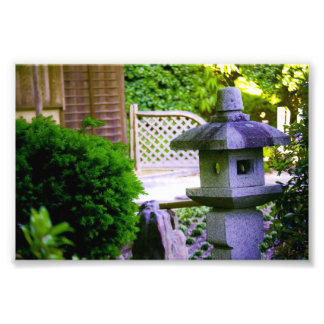 Stone Birdhouse Photo Print