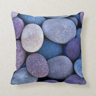 Stone blue rocks cushion