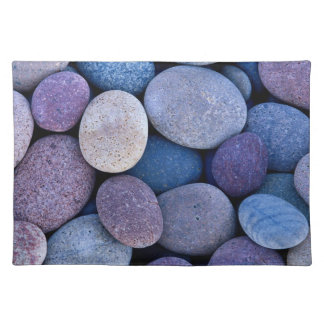 Stone blue rocks placemat
