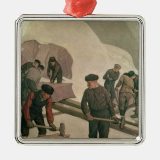 Stone Breakers, 1903 Christmas Ornament