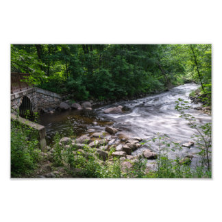 STONE BRIDGE AT NINE MILE CREEK by Michelle Diehl Photographic Print