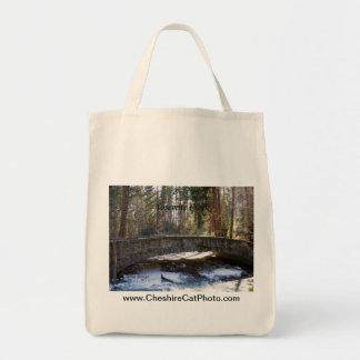 Stone Bridge Yosemite Creek California Products Tote Bags