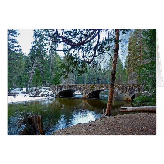 Stone Bridge - Yosemite National Park Card