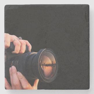 Stone Camera Coaster