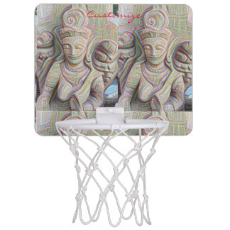 Stone carved dakinis Thunder_Cove Mini Basketball Hoop