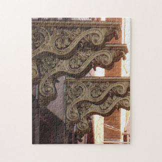 Stone Citizens doorway detail Jigsaw Puzzle