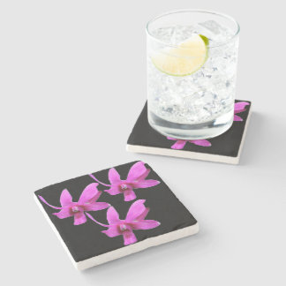 Stone Coaster - Cooktown Orchid