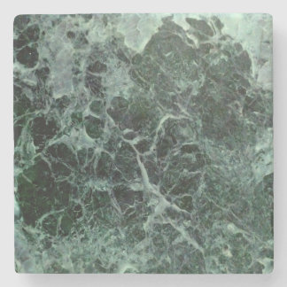 Stone coasters with green marble photo