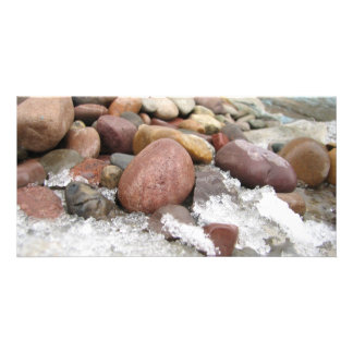 Stone Cold Photo Greeting Card