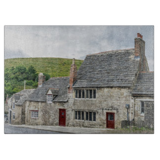 Stone cottages glass cutting board