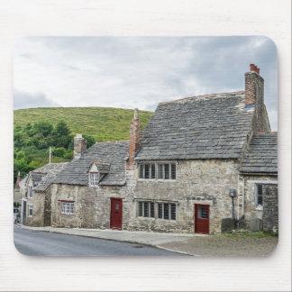 Stone cottages mousepad
